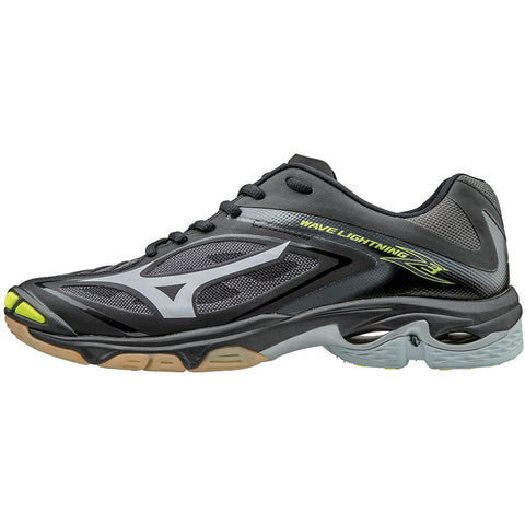 MIZUNO MEN'S WAVE LIGHTNING Z3 INDOOR COURT SHOE BLACK/GREY