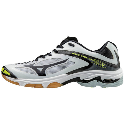 MIZUNO WOMEN'S WAVE LIGHTNING Z3 INDOOR COURT SHOE WHITE/BLACK