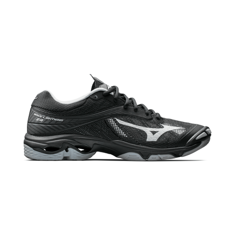 MIZUNO MEN'S WAVE LIGHTNING Z4 INDOOR COURT SHOE BLACK/GREY