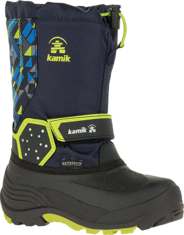 KAMIK BOYS ICETRACK P WINTER BOOT NAVY/MARINE