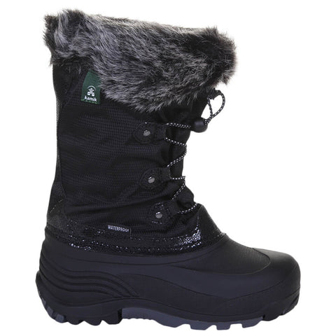 KAMIK GIRLS POWDERY 2 WINTER BOOT BLACK
