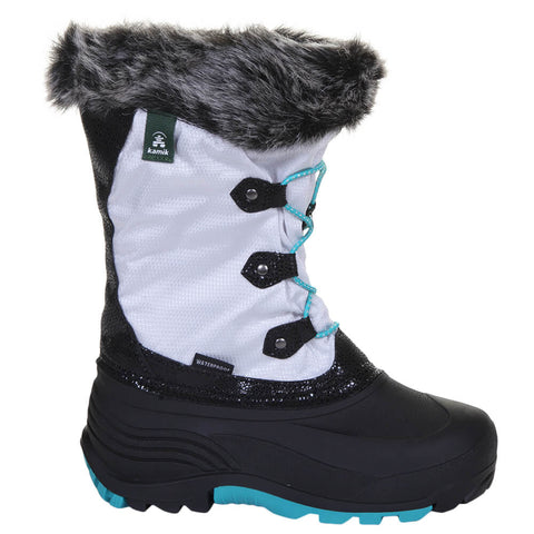 KAMIK GIRLS POWDERY 2 WINTER BOOT WHITE