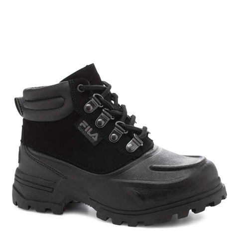 FILA BOYS WEATHERTEC WINTER BOOT BLACK/BLACK
