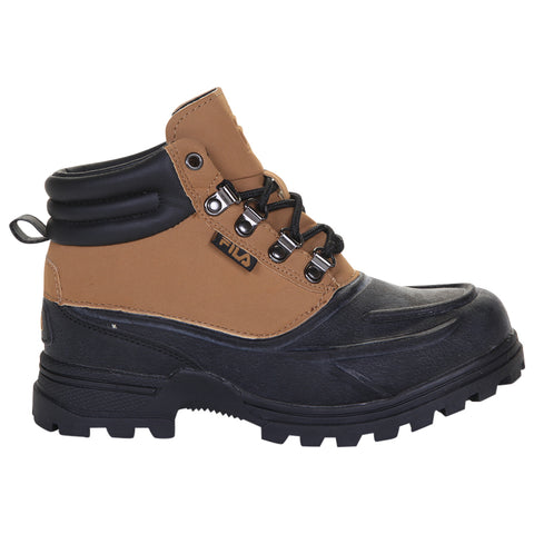 FILA BOYS WEATHERTEC WINTER BOOT WHEAT/BLACK/BLACK