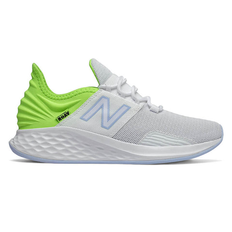 NEW BALANCE WOMEN'S FRESH FOAM ROAV SPORT WIDTH B RUNNING SHOE WHITE/LIME