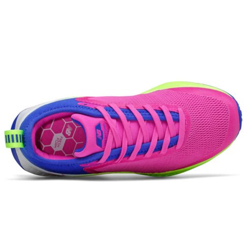 NEW BALANCE GIRLS GRADE SCHOOL FRESH FOAM FAST V2 KIDS SHOE FUSION/COBALT