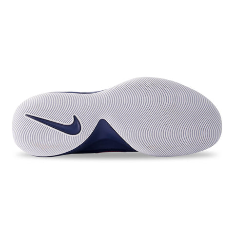 NIKE MEN'S FLY BY MID BASKETBALL SHOE ROYAL/WHITE/BLUE VOID
