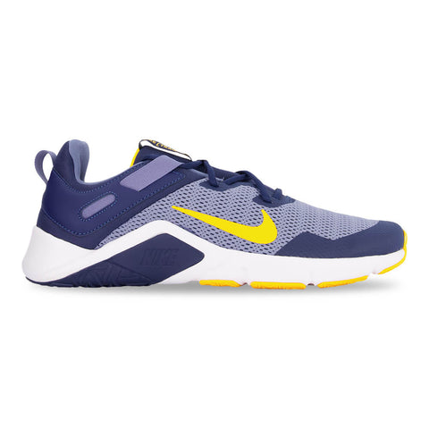 NIKE MEN'S LEGEND ESSENTIAL TRAINING SHOE WORLD INDIGO/LASER ORANGE/NAVY