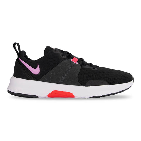 NIKE WOMEN'S CITY TRAINER 3 TRAINING SHOE BLACK/BEYOND PINK/CRIMSON