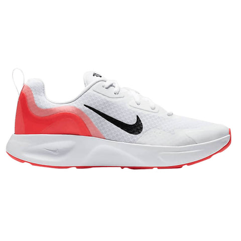 NIKE WOMEN'S WEARALLDAY WALKING SHOE WHITE/BLACK/CRIMSON