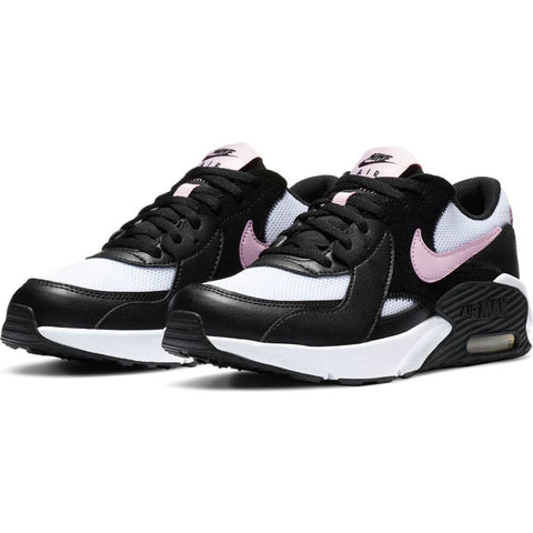 NIKE GIRLS GRADE SCHOOL AIR MAX EXCEE KIDS SHOE BLACK/ARCTIC PINK/WHITE/BLACK