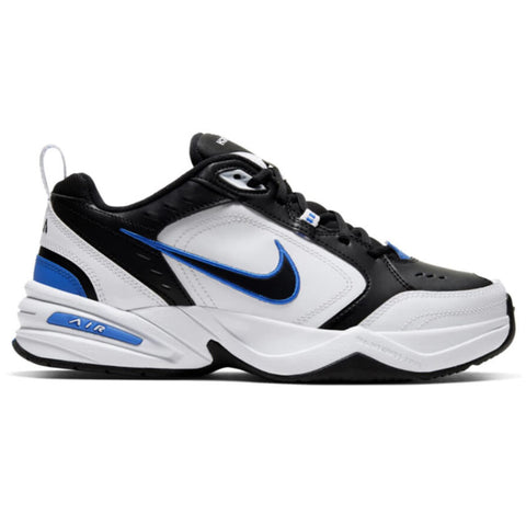 NIKE MEN'S AIR MONARCH IV TRAINING SHOE BLACK/BLACK/WHITE