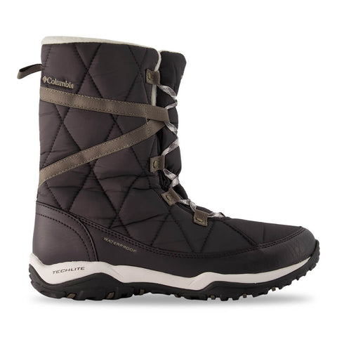 COLUMBIA WOMEN'S CASCARA OMNI-HEAT WINTER BOOT SEA SALT/GREY