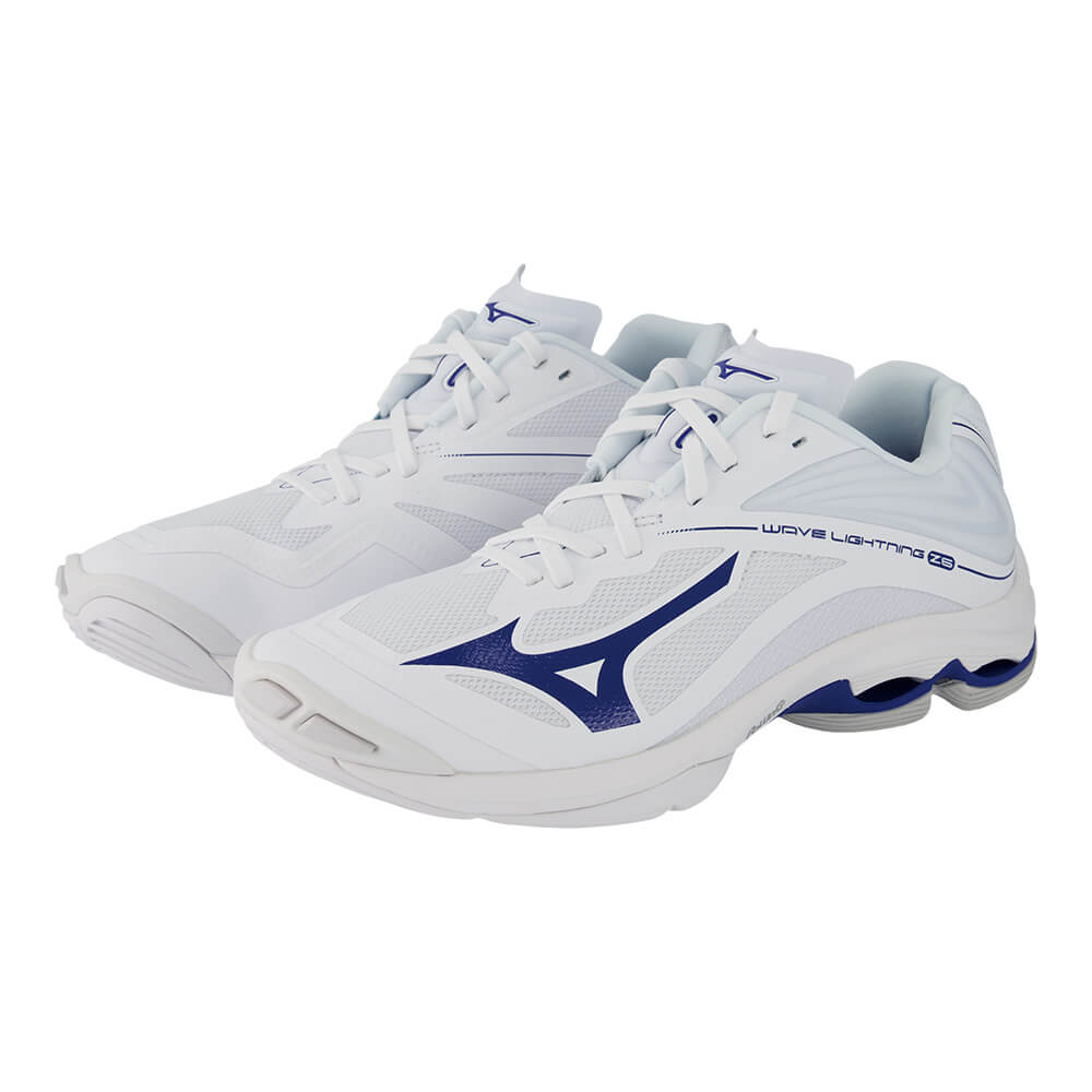 mizuno womens volleyball shoes size 8 x 2 internacional navy