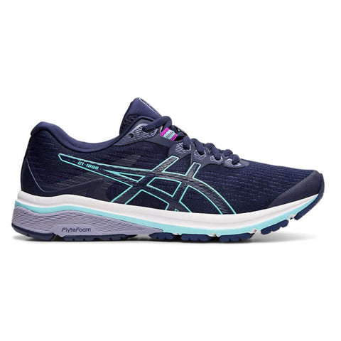 ASICS WOMEN'S GT-1000 8 RUNNING SHOE PEACOAT/ICE