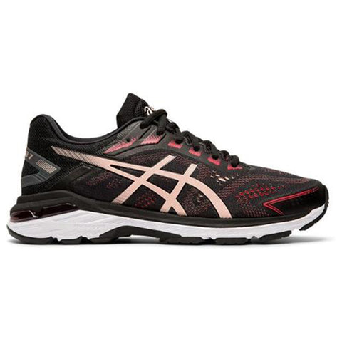 ASICS WOMEN'S GT-2000 7 RUNNING SHOE BLACK/BREEZE