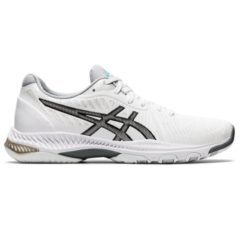 ASICS WOMEN'S NETBURNER BALLISTIC FF VOLLEYBALL COURT SHOE WHITE/BLACK
