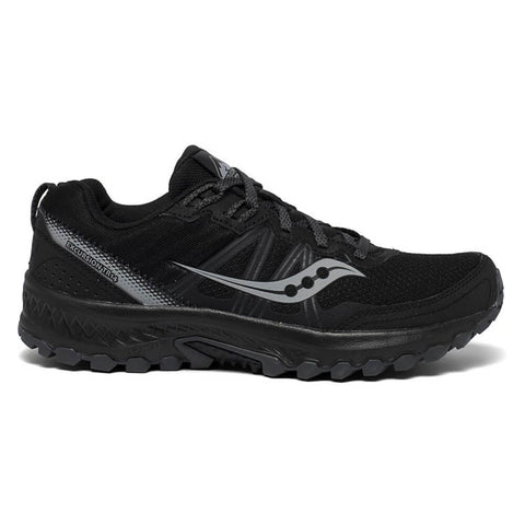 SAUCONY MEN'S EXCURSION TR14 RUNNING SHOE BLACK/CHARCOAL