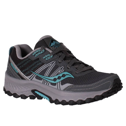 SAUCONY WOMEN'S EXCURSION TR14 RUNNING SHOE CHARCOAL/MARINE