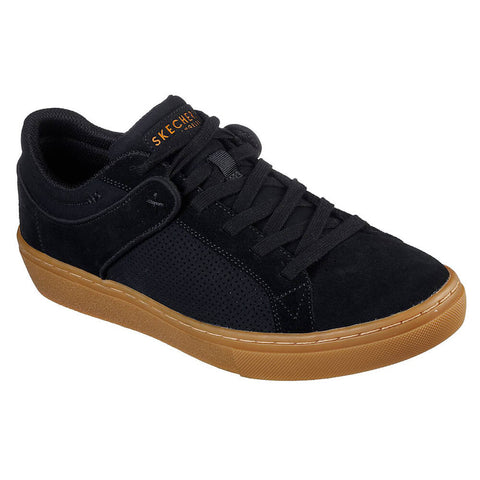 SKECHERS MEN'S GOLDIE - BRYBE LIFESTYLE SHOE BLACK