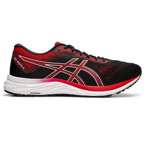 ASICS MEN'S GEL EXCITE 6 WIDTH 4E RUNNING SHOE BLACK/SPEED RED