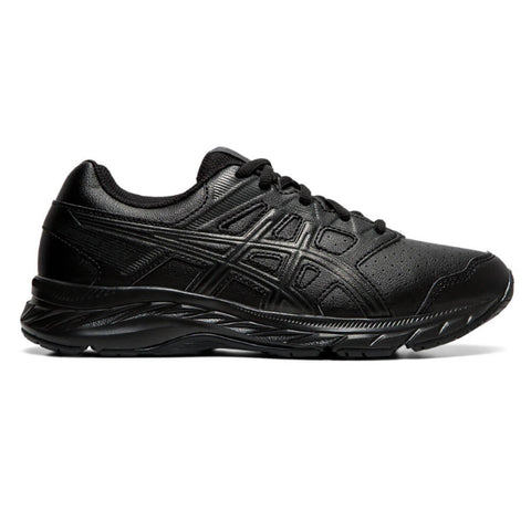 ASICS BOYS GRADE SCHOOL GEL CONTEND 5 SL KIDS SHOE BLACK/GRAPHITE GREY