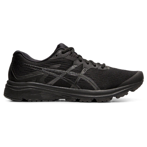 ASICS WOMEN'S GT-1000 8 RUNNING SHOE BLACK/BLACK