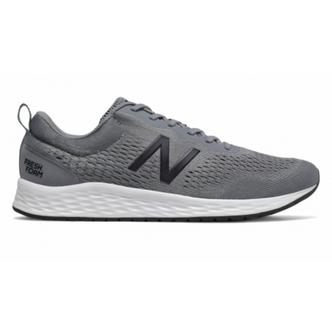 NEW BALANCE MEN'S MARISLG3-4E RUNNING SHOE GREY/WHITE