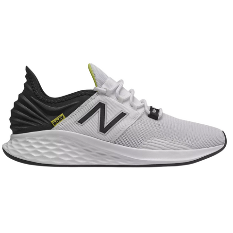NEW BALANCE MEN'S MROAVLW 2E RUNNING SHOE WHITE/BLACK