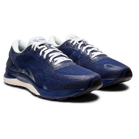 ASICS MEN'S GEL-NIMBUS 21 RUNNING SHOE INDIGO BLUE/INDIGO BLUE
