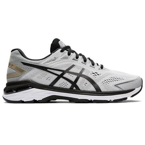 ASICS MEN'S GT-2000 7 2E RUNNING SHOE GREY/BLACK