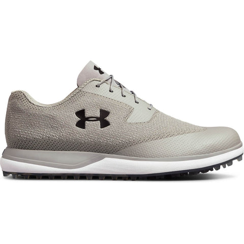 UNDER ARMOUR MEN'S TOUR TIPS KNIT SL GOLF CLEAT GREY