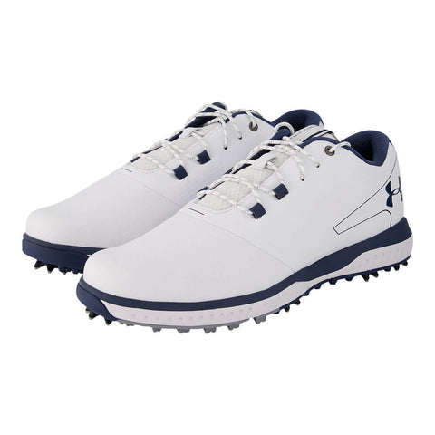 UNDER ARMOUR MEN'S FADE RST 2 GOLF CLEAT WHITE