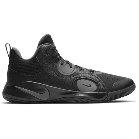 NIKE MEN'S FLY.BY MID 2 BASKETBALL SHOE COOL GREY/BLACK
