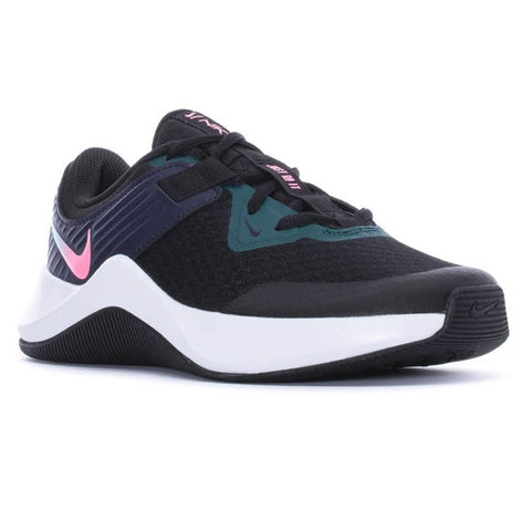 NIKE WOMEN'S MC TRAINER TRAINING SHOE BLACK/SUNSET PULSE/BLACK/BLUE