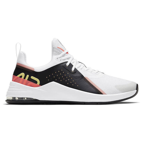NIKE WOMEN'S AIR MAX BELLA TR 3 TRAINING SHOE WHITE/LIGHT ZITRON/BLACK/BRIGHT MANGONIKE WOMEN'S AIR MAX BELLA TR 3 TRAINING SHOE WHITE/LIGHT ZITRON/BLACK/BRIGHT MANGO