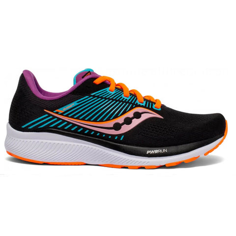 SAUCONY WOMEN'S GUIDE 14 RUNNING SHOE FUTURE/BLACK