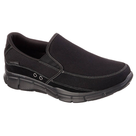 SKECHERS MEN'S EQUALIZER - POPULAR DEMAND LIFESTYLE SHOE BLACK
