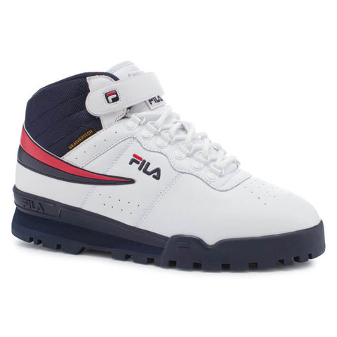 FILA MEN'S F-13 WEATHER TECH BOOT WHITE/NAVY/RED