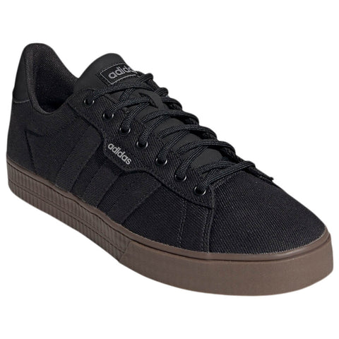 ADIDAS MEN'S DAILY 3.0 LIFESTYLE SHOE BLACK/BLACK/GUM