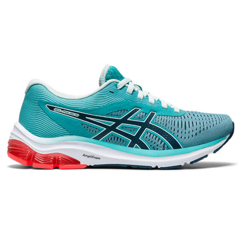 ASICS WOMEN'S GEL PULSE RUNNING SHOE CYAN/ORANGE