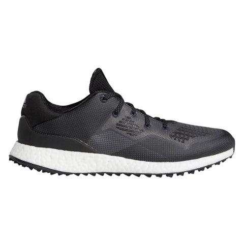 ADIDAS MEN'S CROSSKNIT DPR GOLF CLEAT BLACK/WHITE/GREY