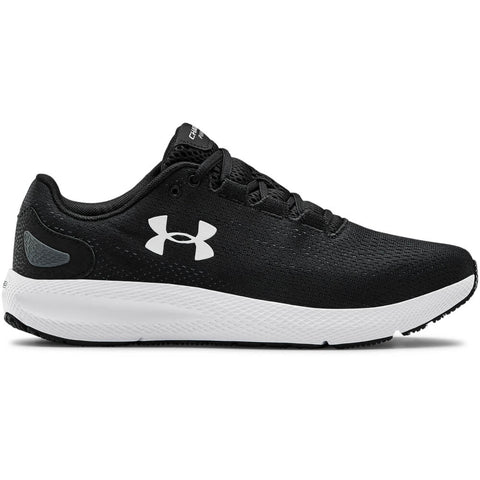 UNDER ARMOUR MEN'S CHARGED PURSUIT 2 WIDTH 4E RUNNING SHOE BLACK