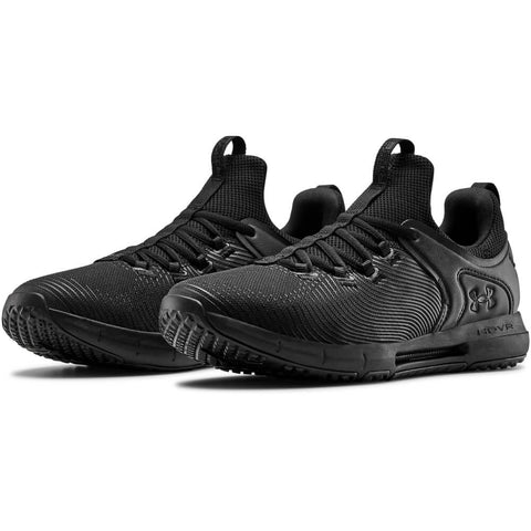UNDER ARMOUR MEN'S HOVR RISE 2 TRAINING SHOE BLACK