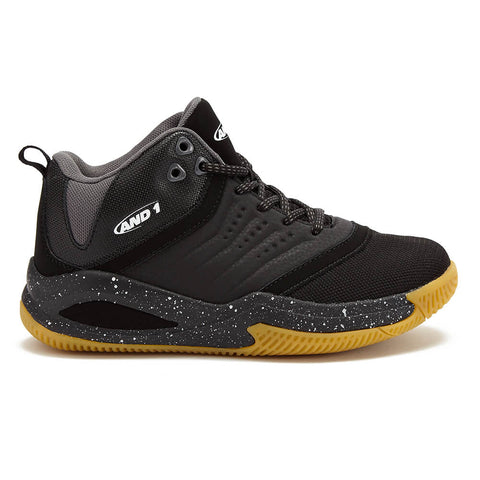 AND1 BOYS GRADE SCHOOL TAKE OFF 2.0 KIDS SHOE BLACK
