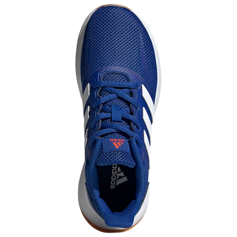 ADIDAS BOYS GRADE SCHOOL RUNFALCON KIDS SHOE ROYAL BLUE/WHITE/SESORE