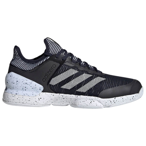 ADIDAS MEN'S ADIZERO UBERSONIC 2 TENNIS SHOE INK/WHITE/INK