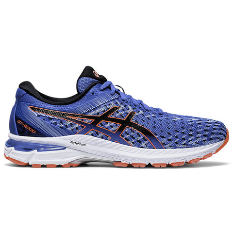 ASICS MEN'S GT-2000 8 KNIT RUNNING SHOE DIRECTOIRE BLUE/BLACK