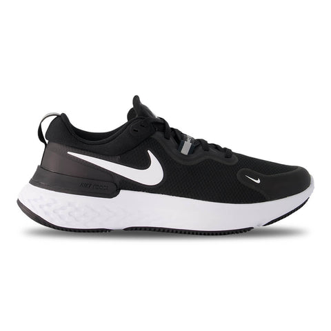 NIKE MEN'S NIKE REACT MILER RUNNING SHOE BLACK/WHITE/DARK GREY/ANTHRACITE