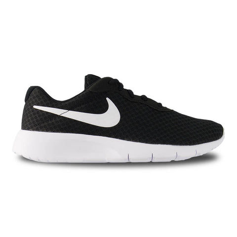 NIKE BOYS GRADE SCHOOL TANJUN KIDS SHOE BLACK/WHITE/WHITE